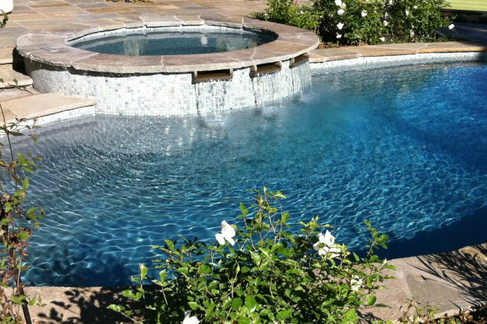 freeform pools epitomized by coastal aquatic creations at encino