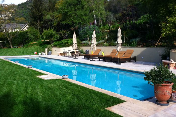 cleanline pools designed by coastal aquatic creations at pacific palisades