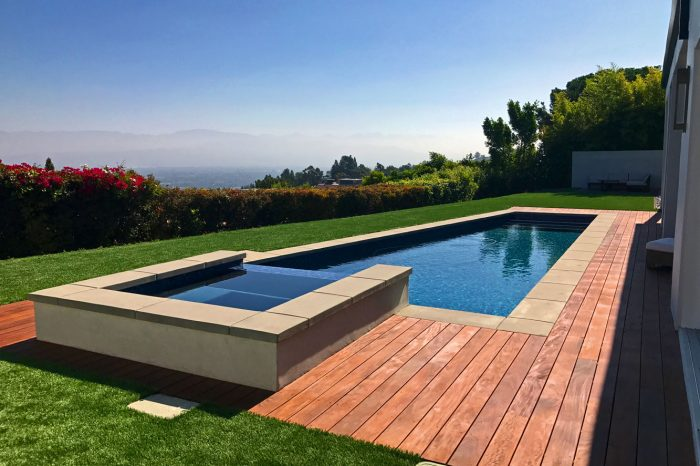 cleanline pools designed by coastal aquatic creations at santa monica