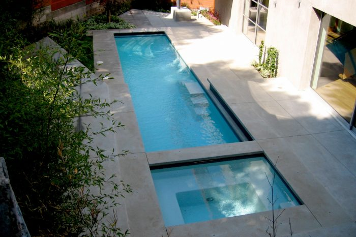 cleanline pool epitomized by coastal aquatic creations at pacific palisades