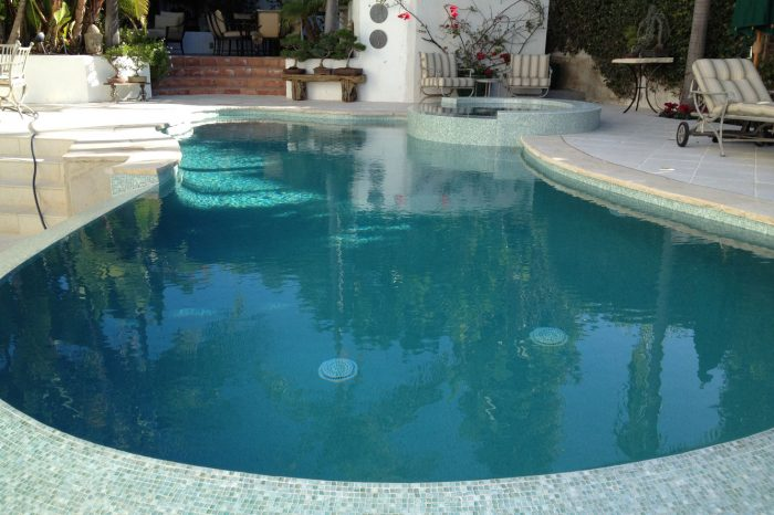 freeform pools epitomized by coastal aquatic creations at brentwood