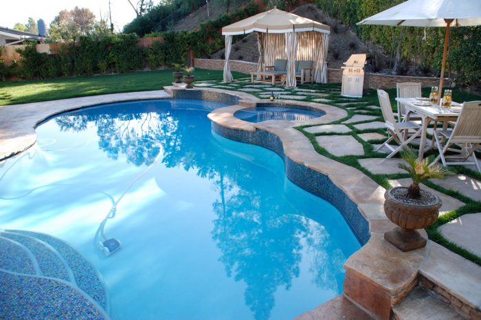 luxury pool contractor from coastal aquatic creations at woodland hills