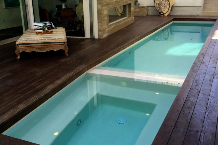 cleanline pool view by coastal aquatic creations at venice